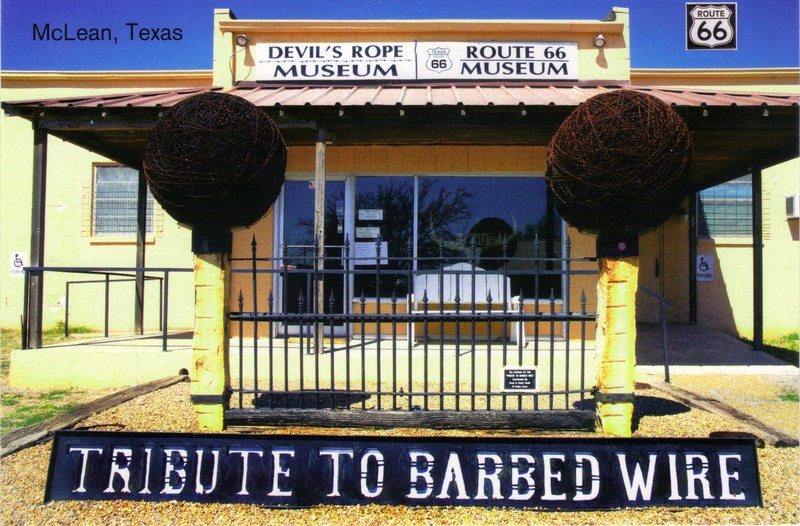 Mclean texas barb wire museum route experience